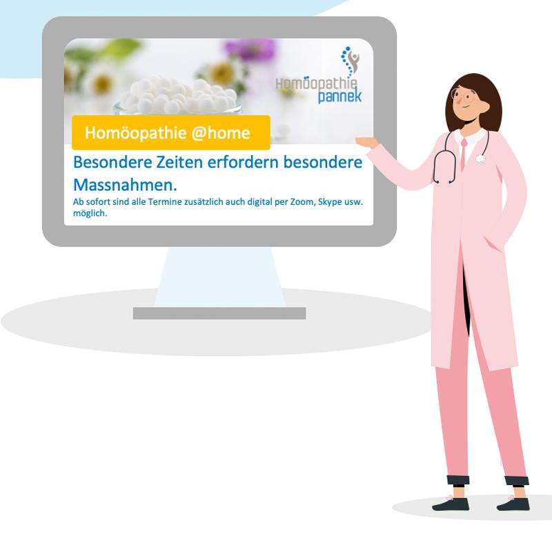 Homöopathie at home | Beratungen zu Hause mit Susanne Pannek